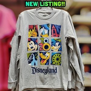 DISNEY 2020 MICKEY & FRIENDS LONG SLEEVE TSHIRT